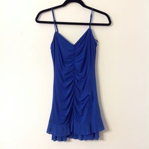 BCBGmaxazria Blue Dress